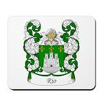 Rio Family Crest Mousepad