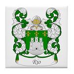 Rio Family Crest Tile Coaster