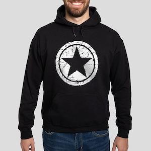 Grunge Star Hoodie (dark)
