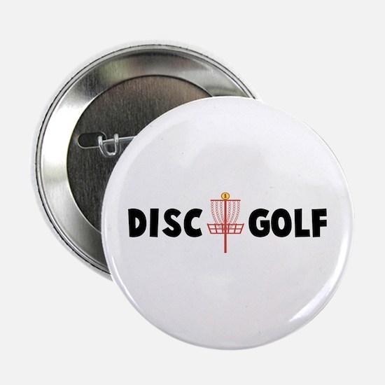 """Disc Golf 2.25"""" Button"""