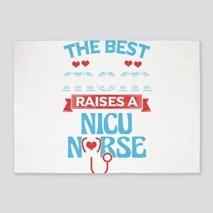 Nicu Nurse Mother's Day: The Be 5'x7'Area Rug