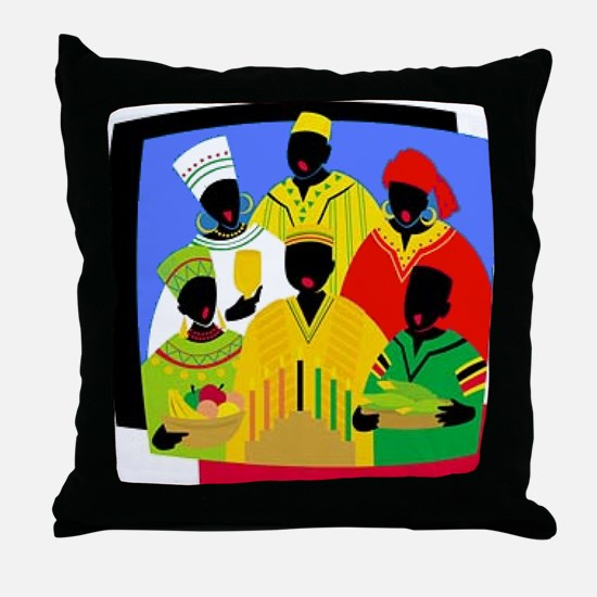 Cute Jewish holiday Throw Pillow