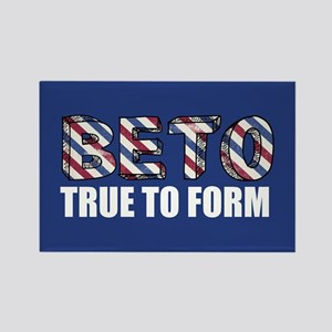 Beto True to Form Rectangle Magnet
