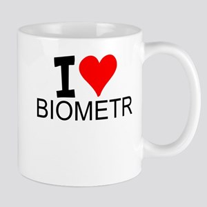 I Love Biometrics Mugs