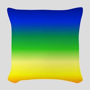 Pride Rainbow Woven Throw Pillow