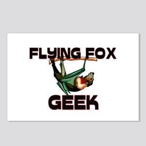 Flying Fox Geek Postcards (Package of 8)