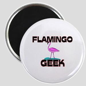 Flamingo Geek Magnet