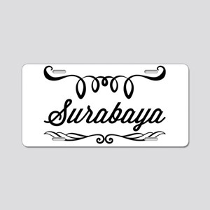 Surabaya Aluminum License Plate