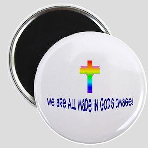 God's Image<br> Magnet