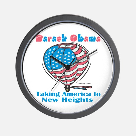 Taking America To New Heights Wall Clock