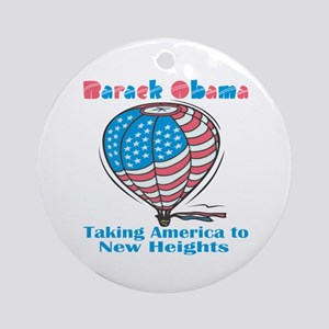 Taking America To New Heights Ornament (Round)