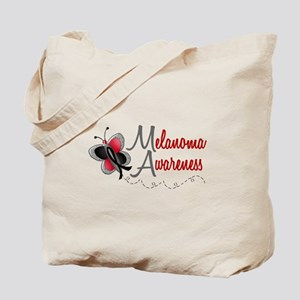 Melanoma Awareness 1 Butterfly 2 Tote Bag