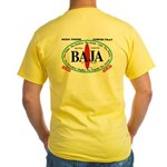 BAJA SUR Surf Spots Yellow T-Shirt