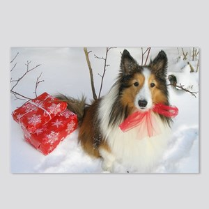Christmas Present Postcards (Package of 8)