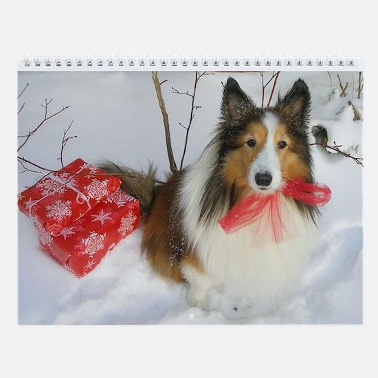 Christmas Present Wall Calendar
