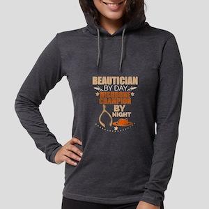 Beautician by day Wishbone Cha Long Sleeve T-Shirt