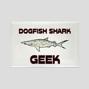 Dogfish Shark Geek Rectangle Magnet