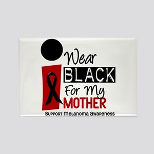 I Wear Black For My Mother 9 Rectangle Magnet