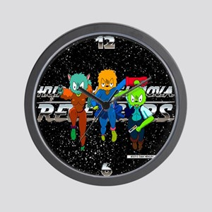 Hyper-Level Nova Revengers Wall Clock