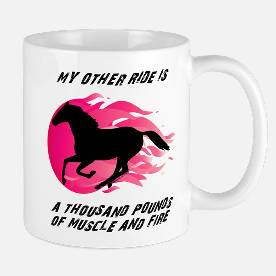 My Other Ride Is A Horse Mug