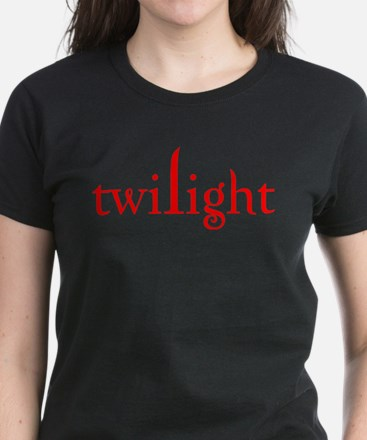 Twilight in red Women's Dark T-Shirt