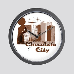 Riyah-Li Designs Chocolate City Wall Clock