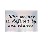 Our Choices Rectangle Magnet