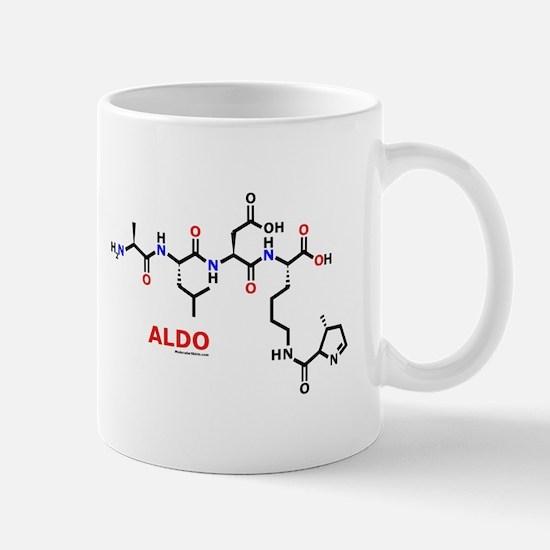 Aldo name molecule Mug
