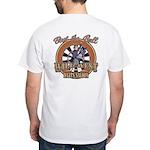 Wild West Darts Saloon White T-Shirt