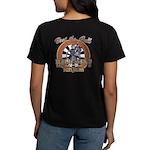 Wild West Darts Saloon Women's Dark T-Shirt