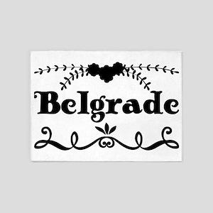 Belgrade 5'x7'Area Rug