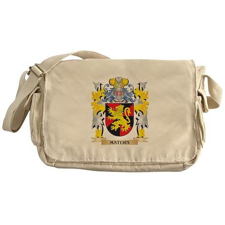 Matura Coat of Arms - Family Crest Messenger Bag