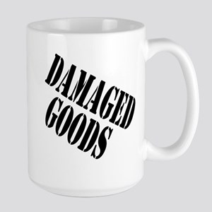 Damaged Goods Large Mug