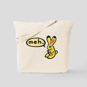 Bunny Says Meh Tote Bag