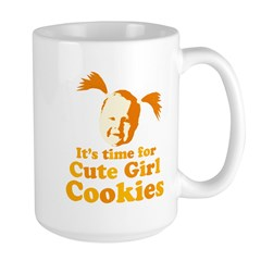 Cute girl Large Mug