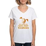 Cute girl Women's V-Neck T-Shirt