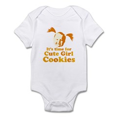 Cute girl Infant Bodysuit