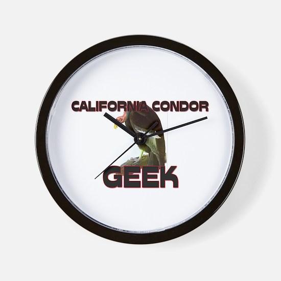 California Condor Geek Wall Clock
