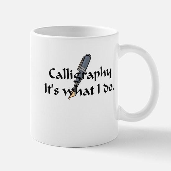 Calligraphy Mug