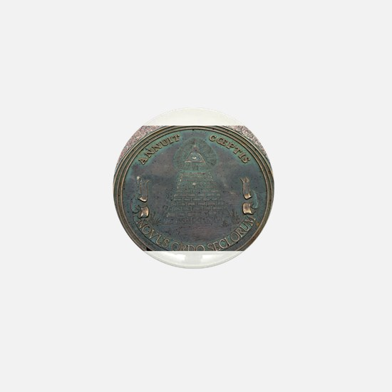 Reverse Great Seal Of The US Mini Button