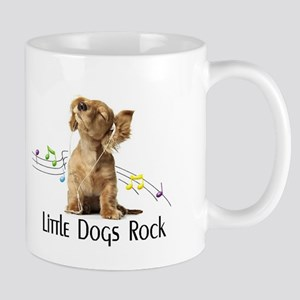little dogs rock Mug