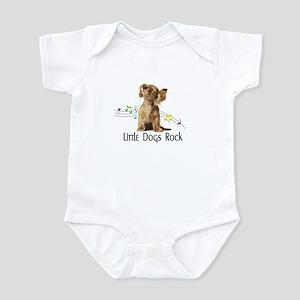 little dogs rock Infant Bodysuit