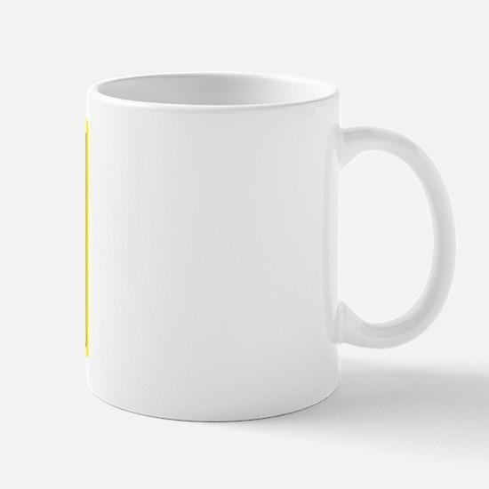 Caffeine Warning Physio. on Front of Mug