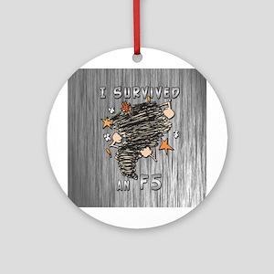 Survived F5 Ornament (Round)