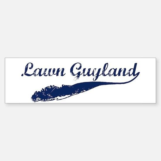 LAWN GUYLAND Bumper Bumper Bumper Sticker