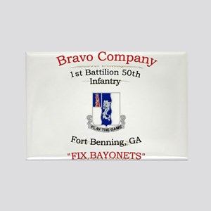 B co 1/50 inf Rectangle Magnet