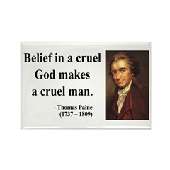 Thomas Paine 20 Rectangle Magnet