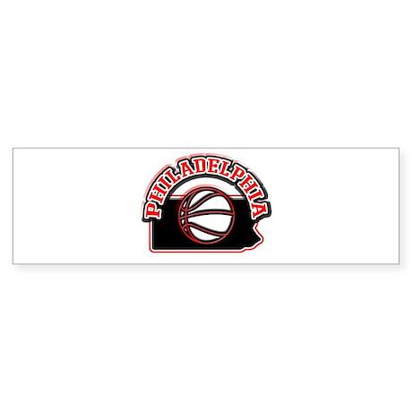 hiladelphia Basketball Bumper Sticker (50 pk)