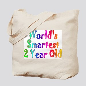 World's Smartest 2 Year Old. Tote Bag