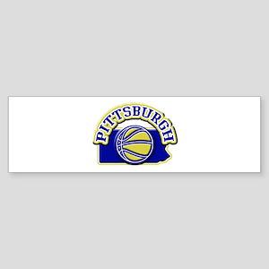Pittsburgh Basketball Bumper Sticker